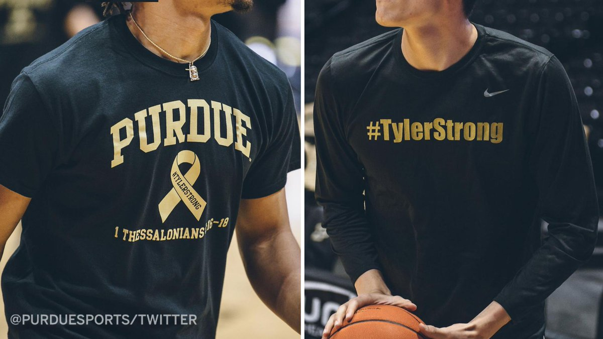 Espn On Twitter Tyler Trent Inspired So Many People Purdue And