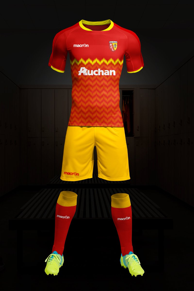 Sport Concept Fantasy On Twitter Rc Lens Football Kit Rcl Rclens Footballkit