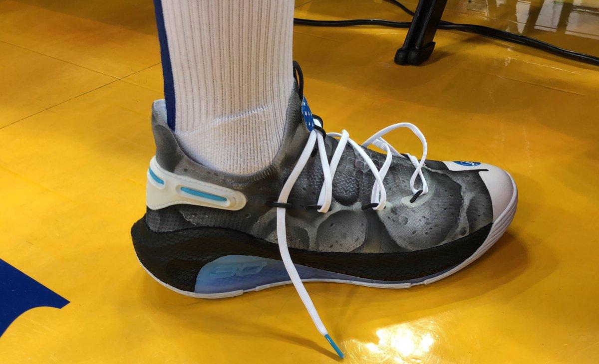 624c7d09a6b1 Stephen Curry s  Moon Landing  sneakers land on eBay for STEM ... NBA KICKS  on Twitter