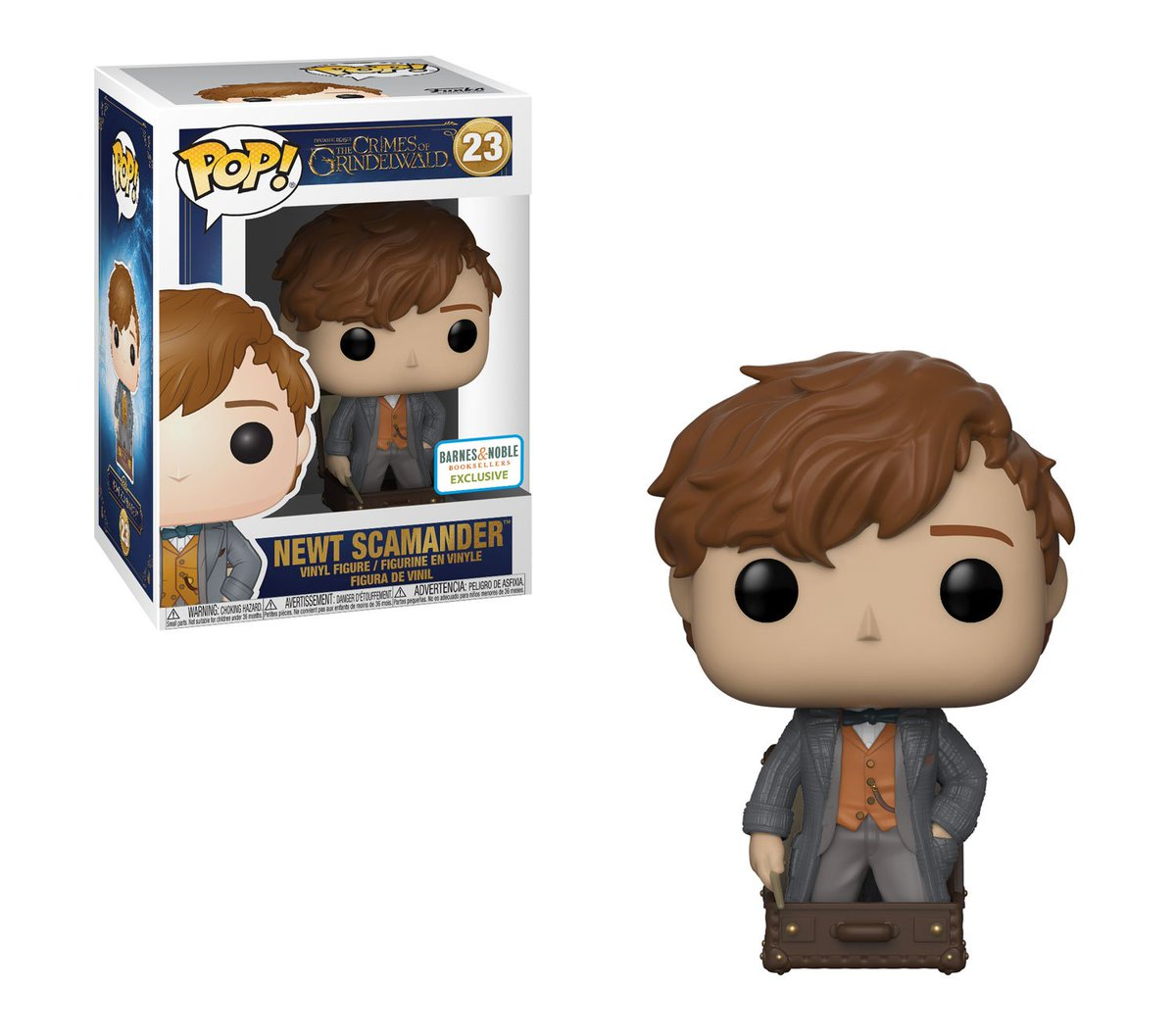 RT & follow @OriginalFunko for a chance to WIN a @BNBuzz exclusive Newt Scamander Pop!