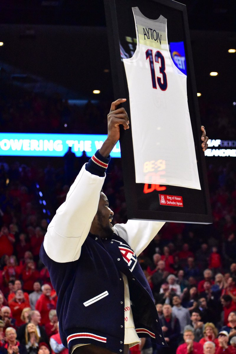 A special moment for a special player at halftime tonight.   #APlayersProgram