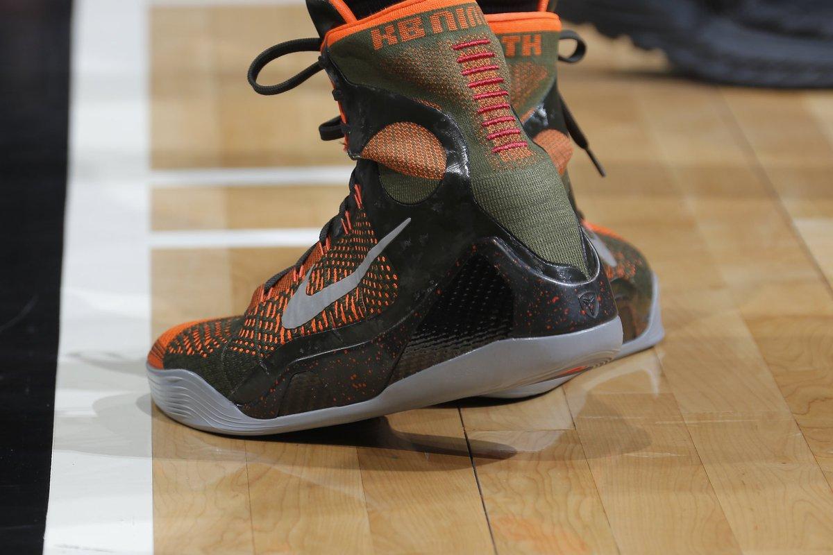 "Nike Kobe 9 ""Sequoia"" tonight"