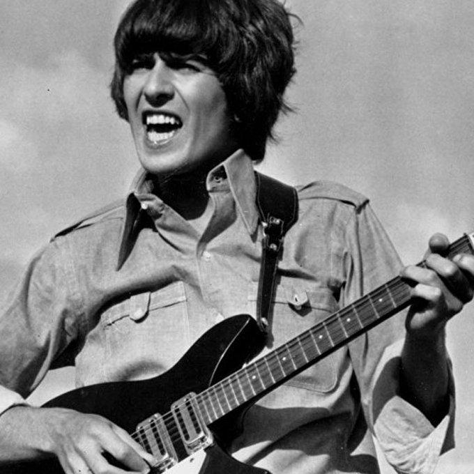 \I\ve Got My Mind Set On You.\ Happy Birthday George Harrison