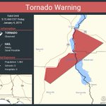 Image for the Tweet beginning: Tornado Warning continues for Henry