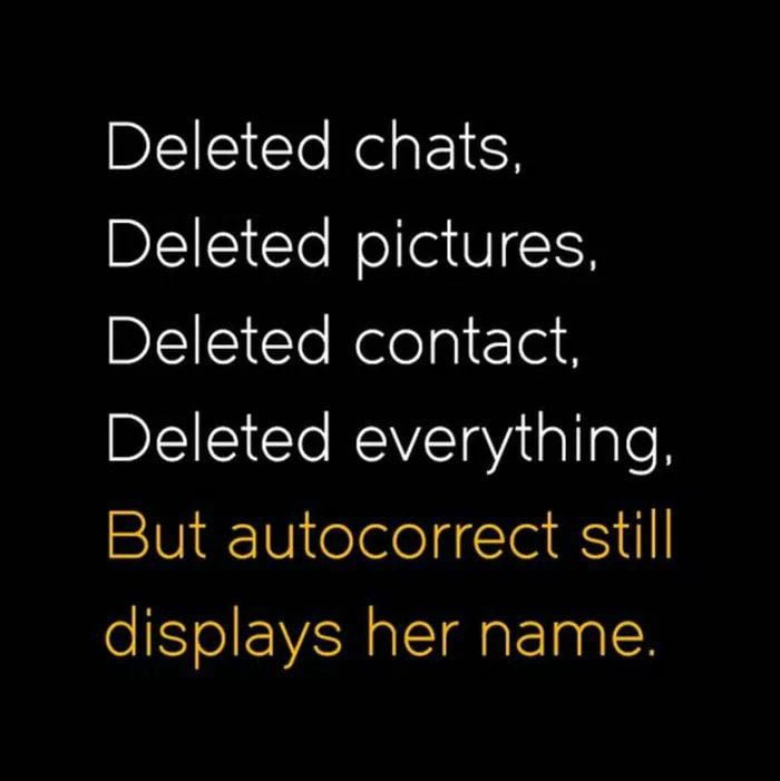 Yes, I will get rid of everything to forget her. *typing.... wait whaattt. It is you again autocorrect #fails #jumatpuisi <br>http://pic.twitter.com/secs6JhkcY