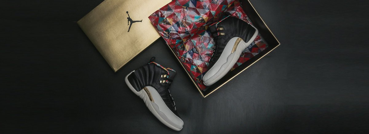 12164af2e6c ... 265 New arrival Order link  https   www.kickscrew.com nike-air-jordan-12 -retro-cny-chinese-new-year-2019-ci2977-006.html …  solecollector   dailysole .