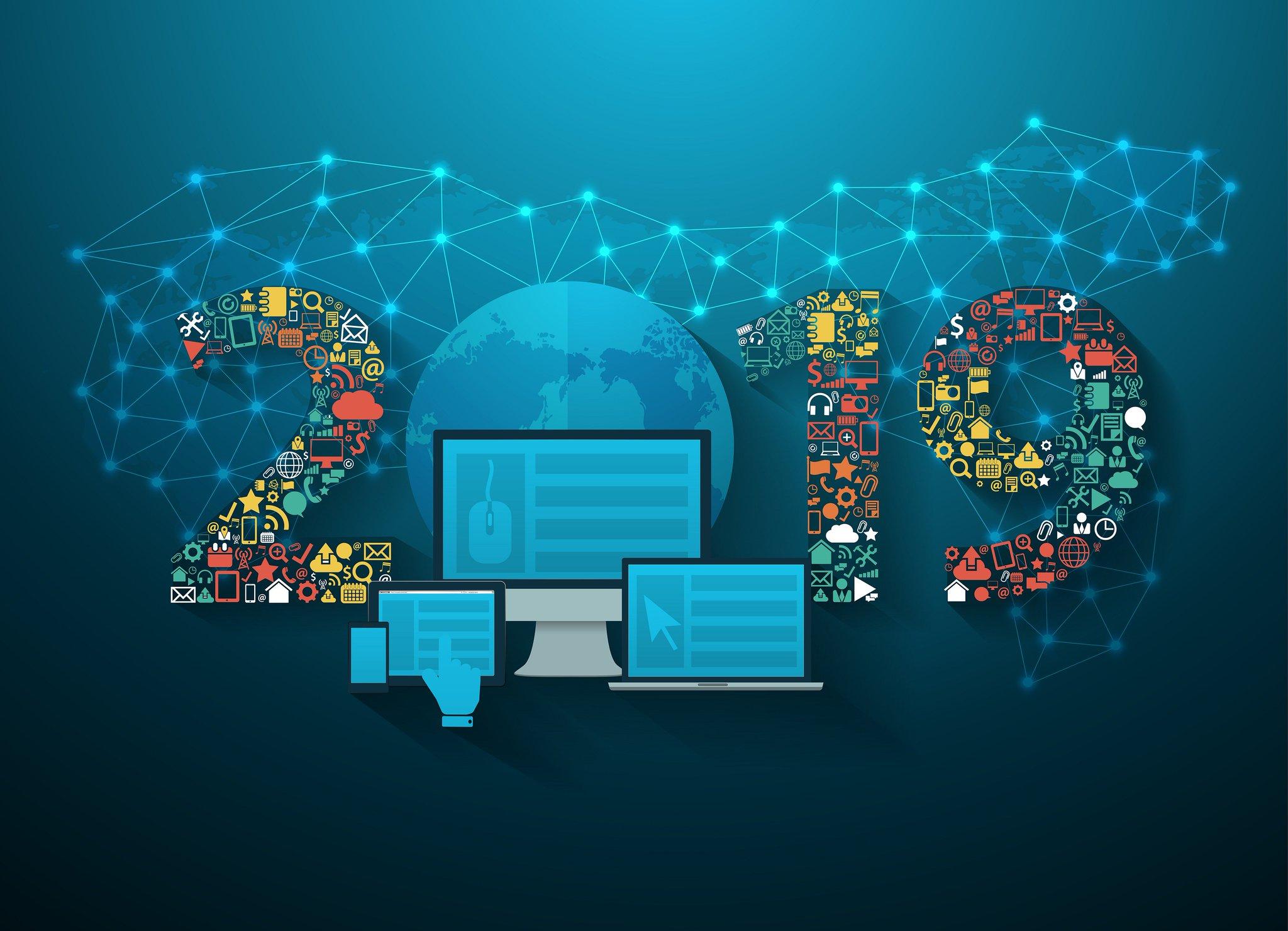 новогодняя открытка современные технологии