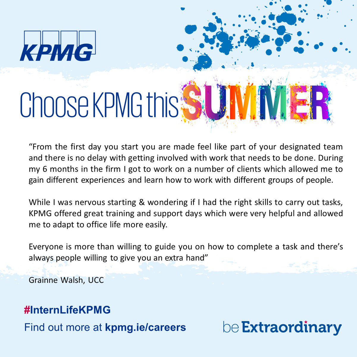 KPMG Careers Ireland on Twitter: