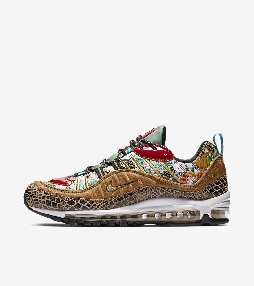 347721f4690 Official Images of upcoming Nike Air Max 98  Chinese New Year pic.twitter .com Az17EYRdTr