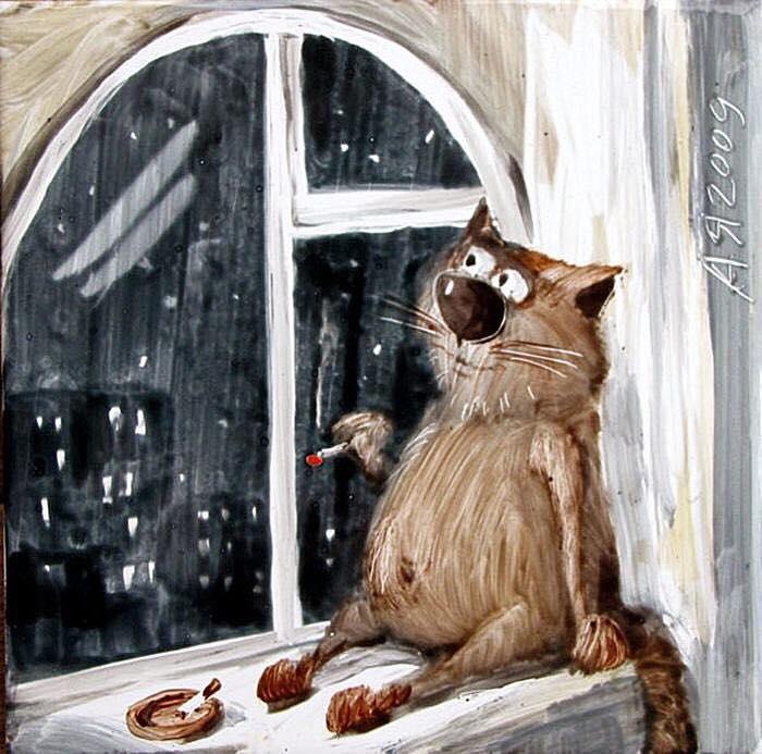 День заглядывания в окна открытки, днем