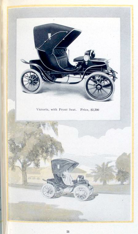 here is the rauch & lang electric victoria, which is a rather fabulously  elegant turn-of-the-century vehicle  rauch and lang had generally brilliant