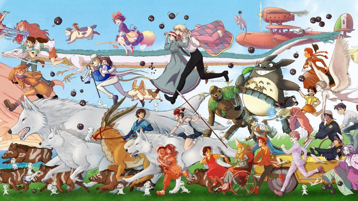 Картинки аниме всех мультфильмов