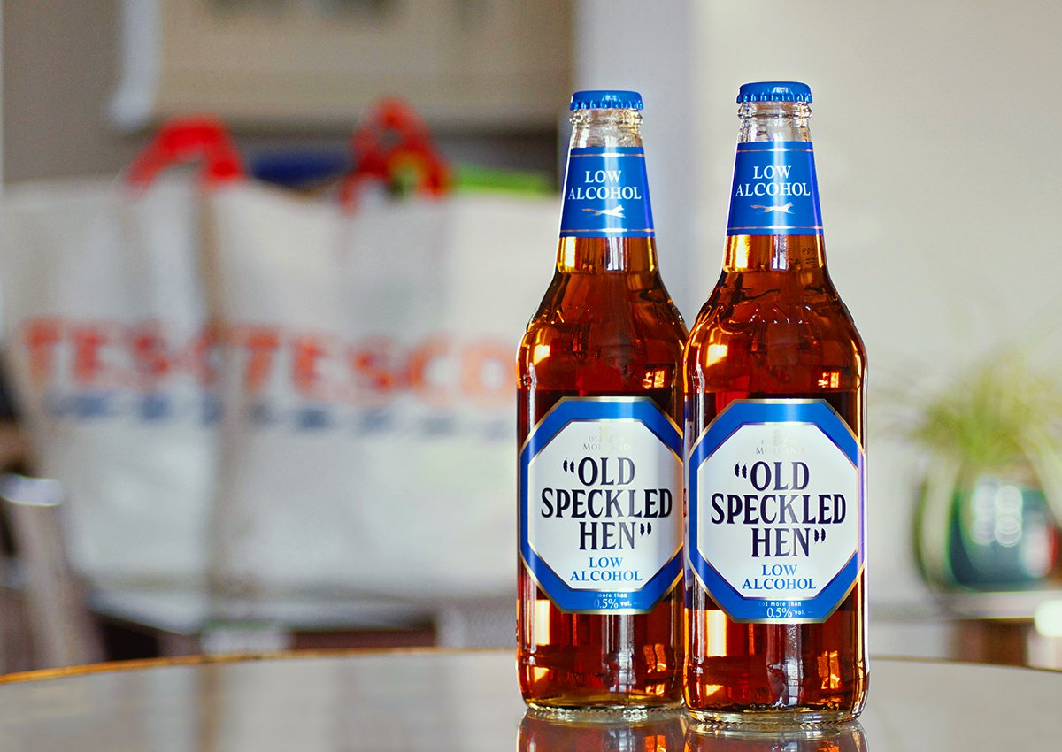 9de11c500b6 Well the good news is Low Alcohol Old Speckled Hen is now in @Tesco stores  up and down the country...Phew! #DryJanuary #LowAlcoholBeer #OldSpeckledHen  ...