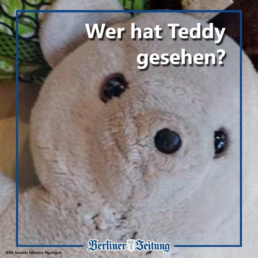 Philipp (2) aus Wedding vermisst seit einem Silvesterspaziergang seinen besten Freund Teddy. Teddy ist schon 33 Jahre alt und hat viel erlebt. Bei einem Überfall in Kamerun, der Heimat von Philipps Papa, war er das einzige, was übrig blieb. #WoIstTeddy  https://t.co/HuDF6eIgTE