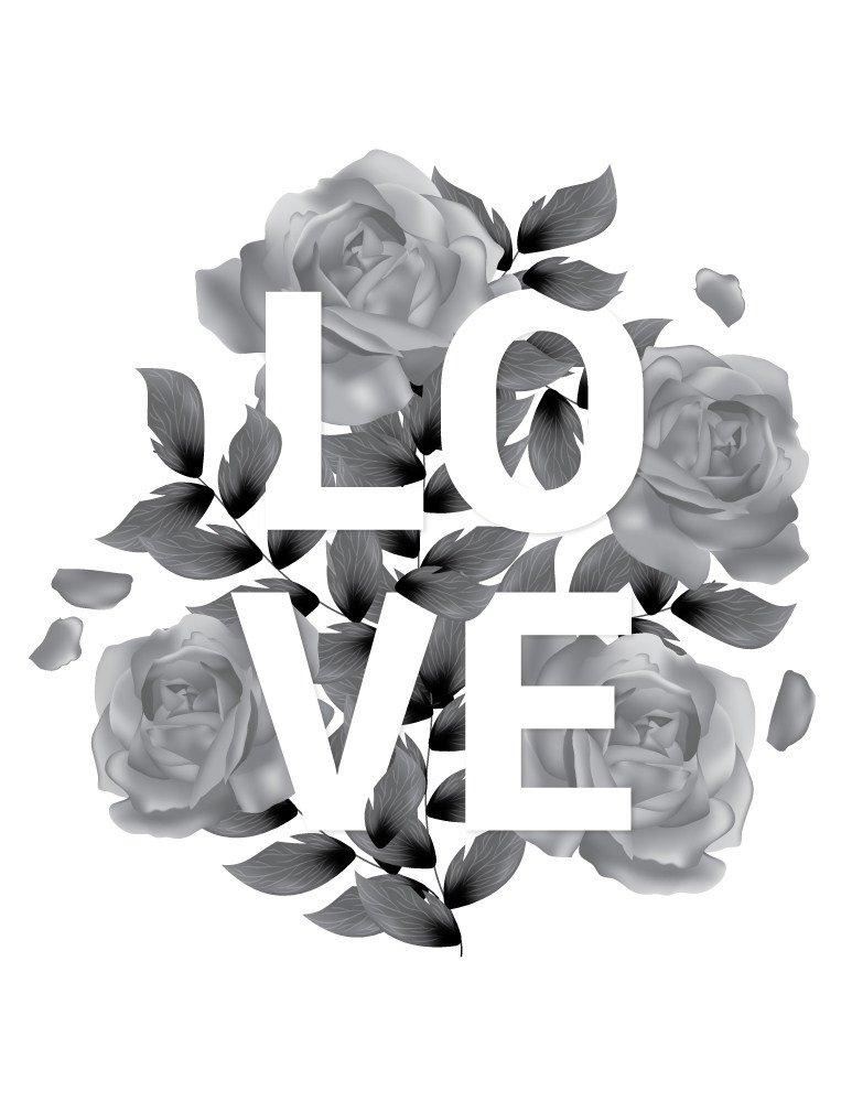Coloriage Lettre Printemps.Artherapie Ca On Twitter Coloriage Love Fleurs Et