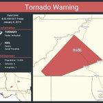 Image for the Tweet beginning: Tornado Warning including Camilla GA
