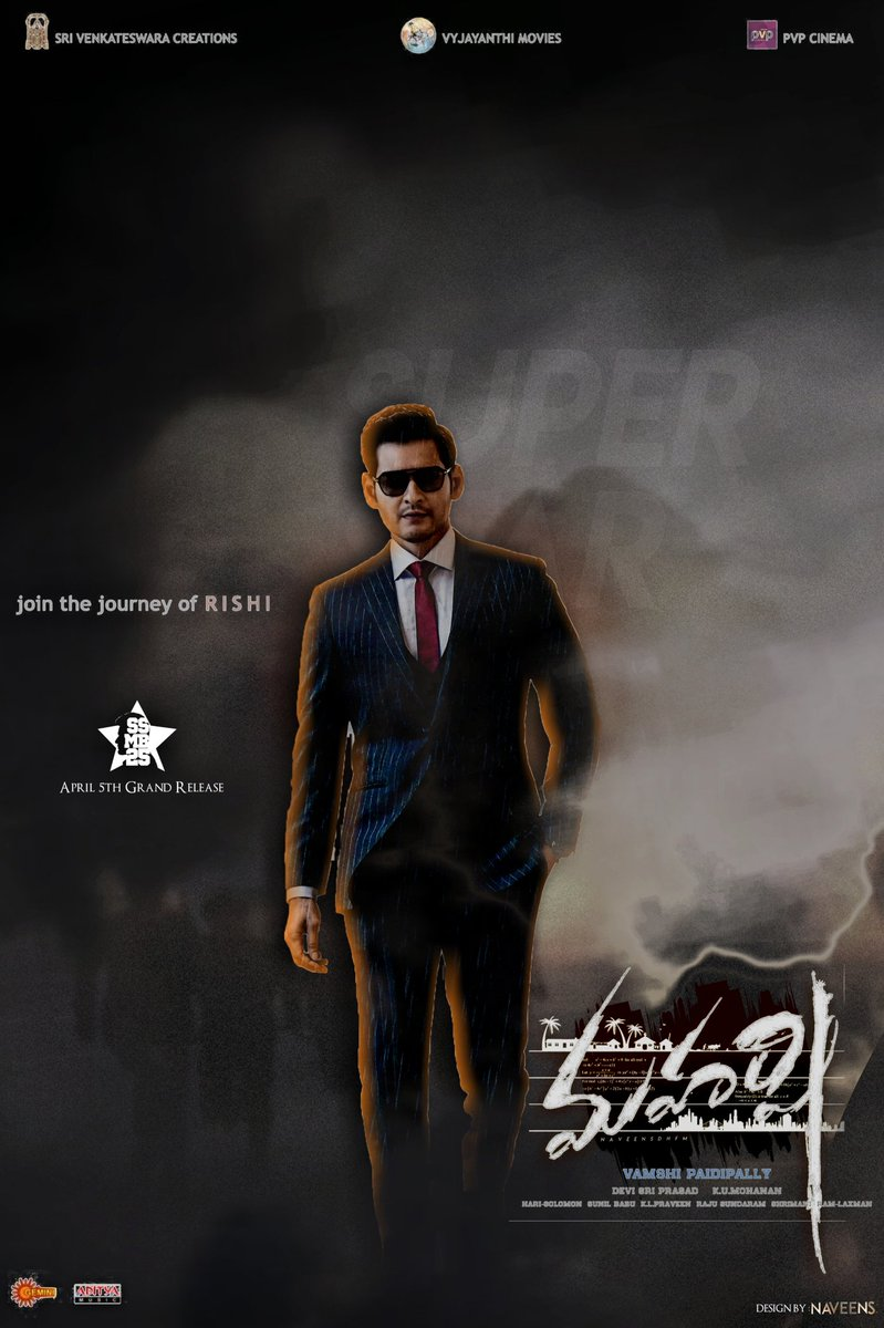Maharshi First Look and Posters