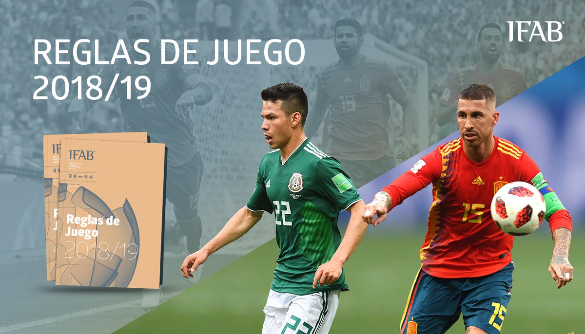 De acuerdo al documento  Reglas del Juego 2018 19  de la International  Football Association Board 32e6c1d4f4513
