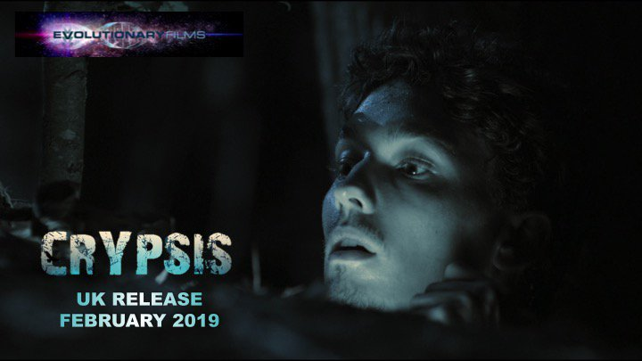 Crypsis follows a group of friends who must survive the night on an uninhabited island, whilst being stalked by a terrifying creature. Coming soon to the UK! #Crypsis #UKRelease #Horror #HorrorFilm #HorrorMovie #MonsterInTheWoods #CreatureFeature #MonsterMovie #EvolutionaryFilms