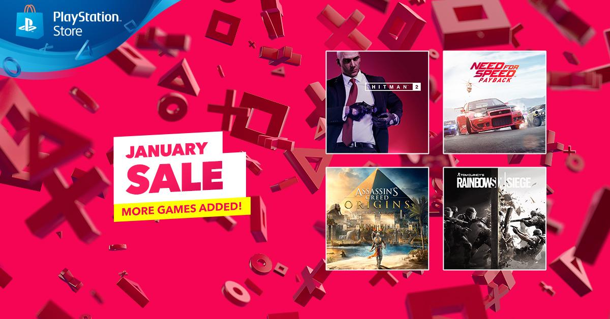 Playstation Europe On Twitter A Host Of New Adventures Join The Ps Store January Sale Today Including Assassin S Creed Origins Hitman 2 And More Here S Everything That S Being Added To The Sale