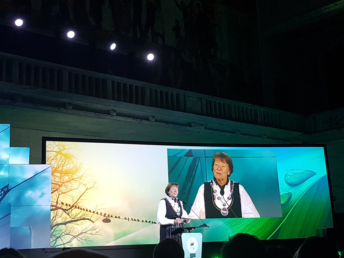 test Twitter Media - RT @EU_GreenCapital: Oslo's Mayor Marianne Borgen kicks off the #EGCA2019 #OpeningCeremony https://t.co/iUXwSwBHtu