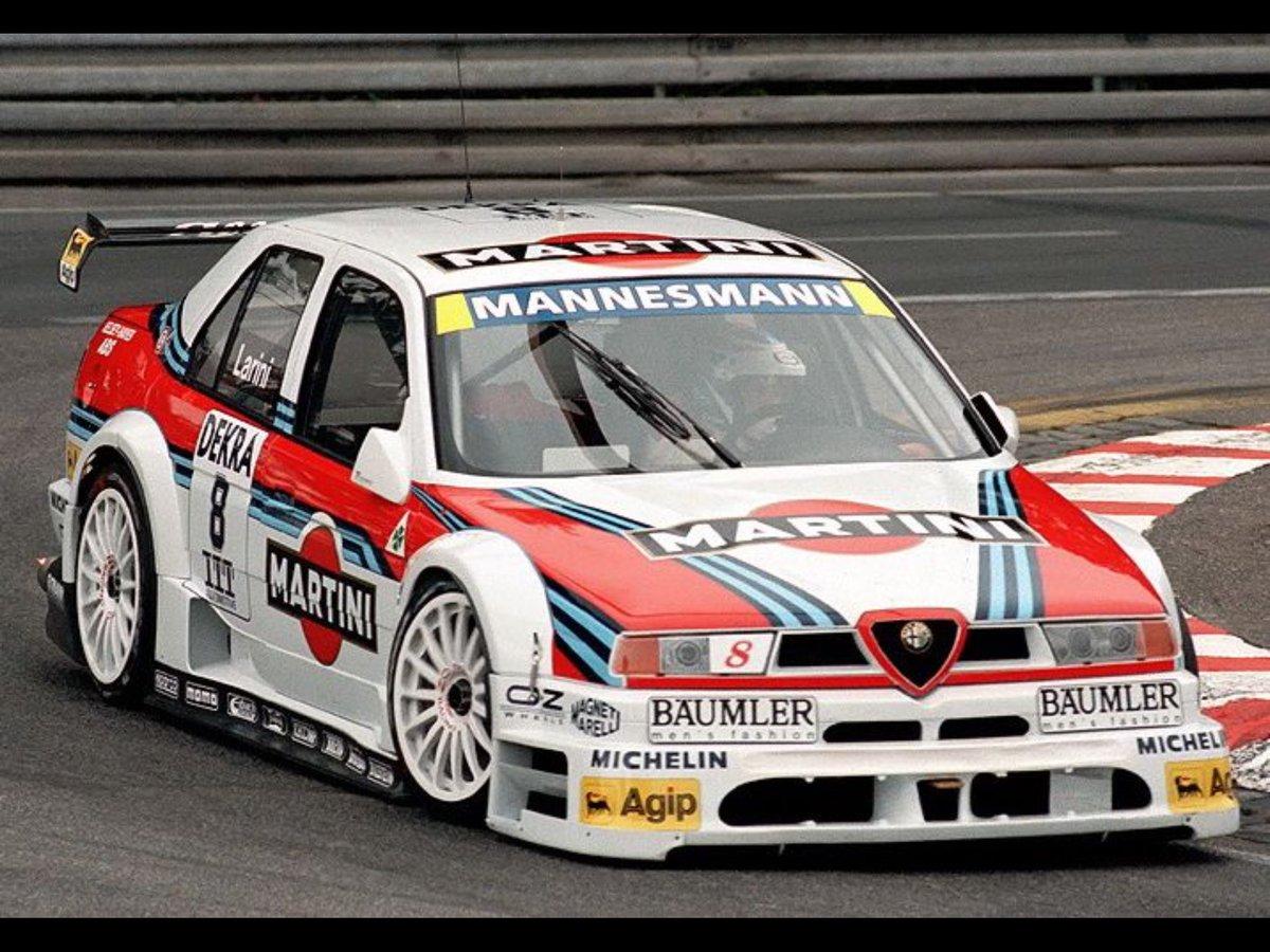 UNMUFFLED Alfa Romeo 155 V6 Ti singing around Nürburgring GP-Strecke! https://t.co/LQiJnxv2QP via @YouTube https://t.co/yBQ5XspIfl