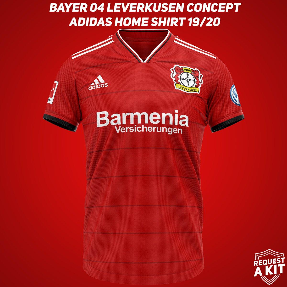 Bayer Leverkusen Jersey History