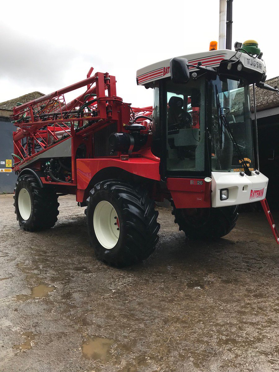 Pre-owned Bateman RB26, available end of March - see our Facebook page for more details => https://www.facebook.com/Batemansprayers/posts/2074793685897799… Enquiries should be made directly with the vendor 👍
