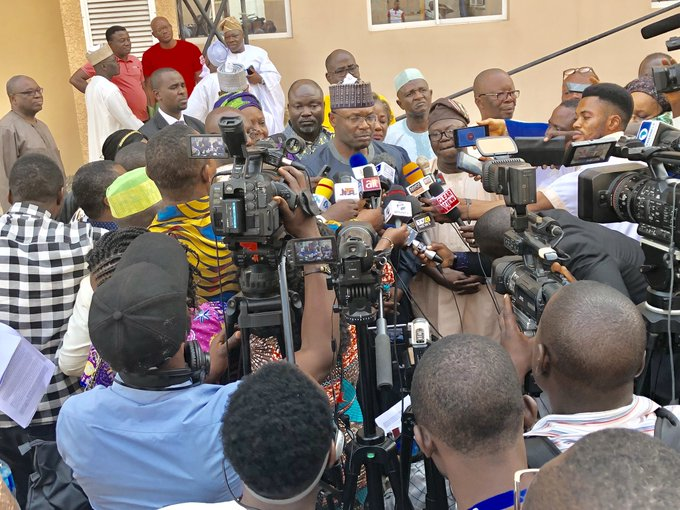 Image result for Why we didn't use server during 2019 elections – INEC