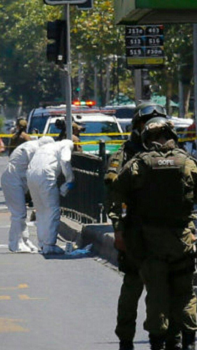 Atentado terrorista en Santiago de Chile deja grave a pareja de Venezolano DwFI377X4AEFGmt