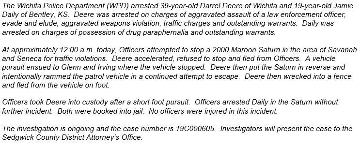 Wichita Police on Twitter: