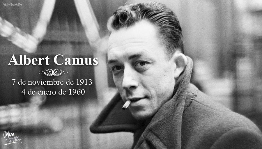 Aniversario de la muerte de Albert Camus DwFeRR9XQAEmJGr
