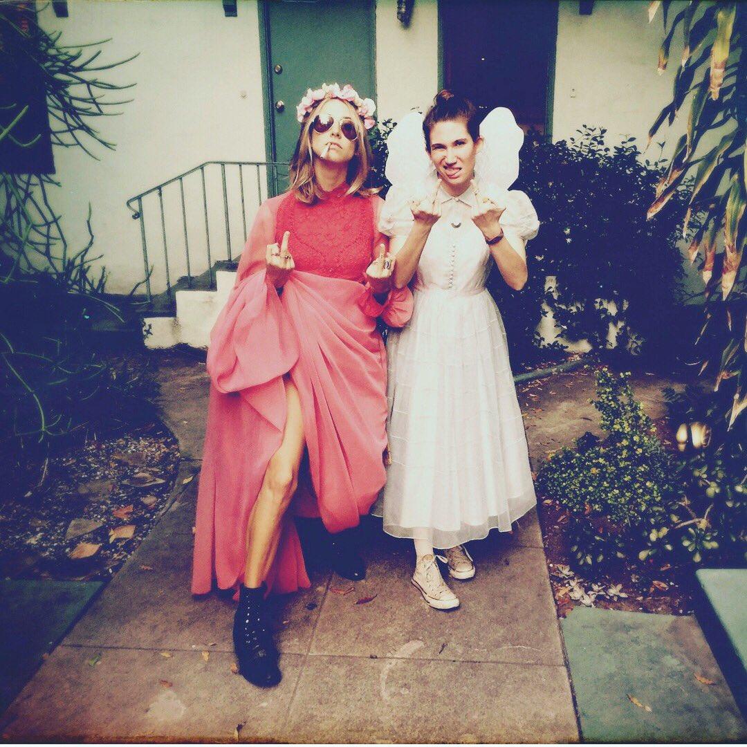 Charlie & Val 🖕🏽 the patriarchy #fbf #femalefilmmakerfriday #tlatfmovie 📸 / Mary Wuliger