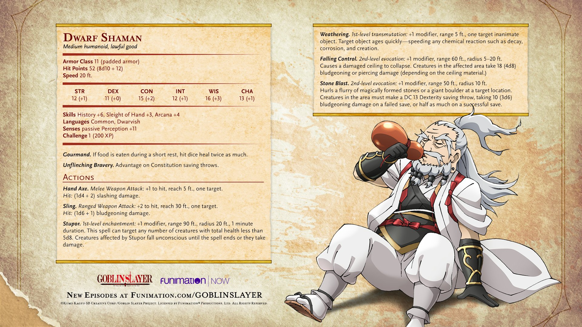 Funimation On Twitter New Goblin Slayer Character Stats Images, Photos, Reviews