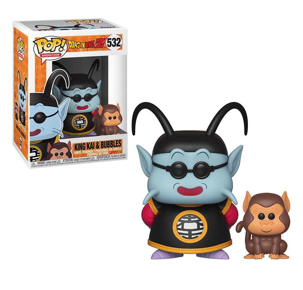 RT & follow @OriginalFunko for the chance to win a King Kai and Bubbles Pop!