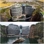 Image for the Tweet beginning: #CyberpunkisNow Intercontinental Shanghai Wonderland Hotel,