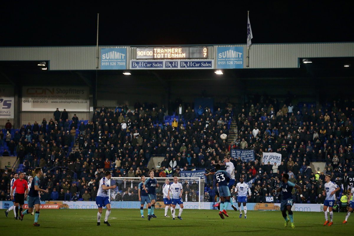Tranmere Rovers vs Tottenham 0-7 Highlights