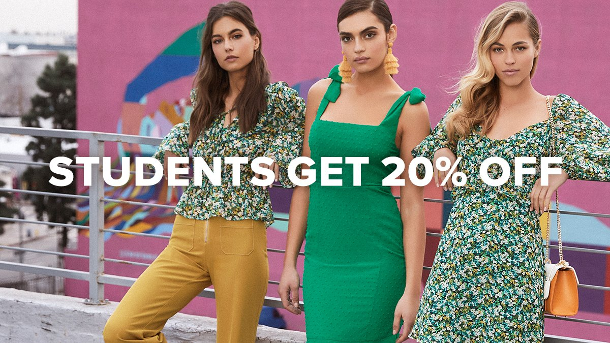 d5506ded9894 Want to save on your fave trends at Lulus? We have partnered with  @MyUNiDAYS to offer students 20% off! To get instant access to this deal,  simply join now ...