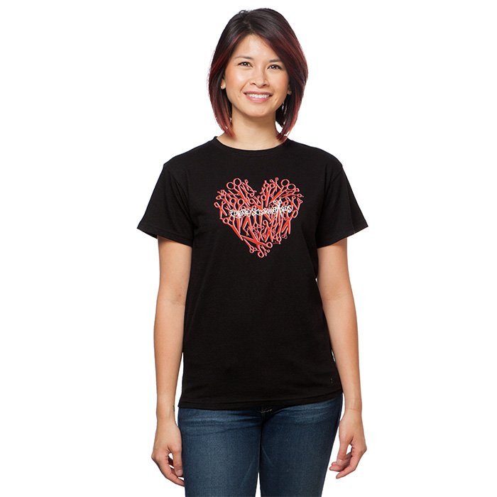 If Edward Scissorhands is your idea of a dreamboat... then we don't blame you. (Use code ZINC at checkout for 30% off.) Edward Scissorhands Scissor Heart Ladies' T-Shirt:  https://t.co/iCL4Cln7Ap