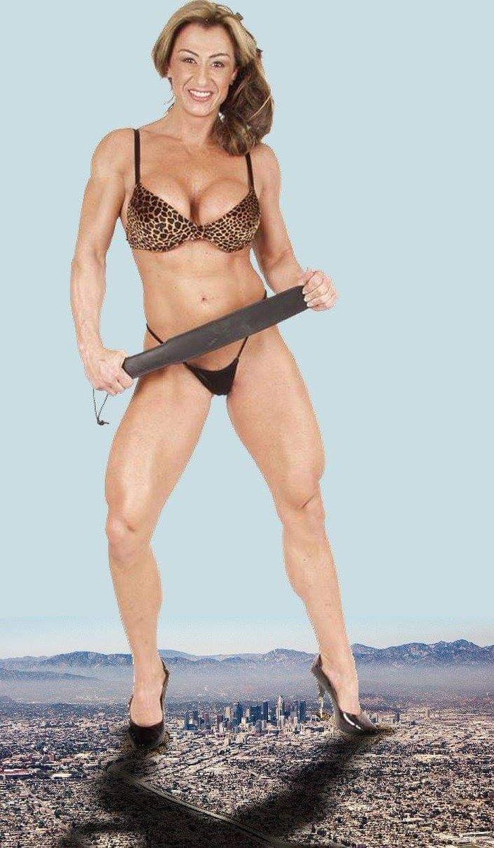 Muscle domination part muscular women
