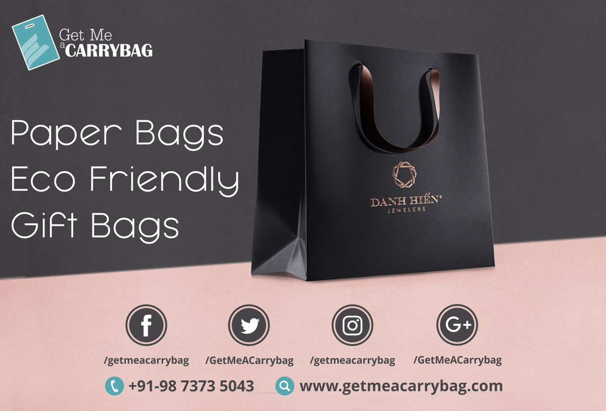 Getmeacarrybag Sur Twitter Paper Bag If Big Is Your Style This Is Your Ideal Bag Make The Right Impression For Your Business And Events Visit Https T Co Eechc9oul9 Call Or Whatsapp At 91 9873735043