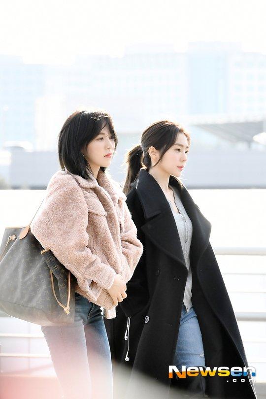 Wendy (Red Velvet) chiếm trọn spotlight tại sân bay khi lần đầu tiên xuất hiện với mái tóc ngắn