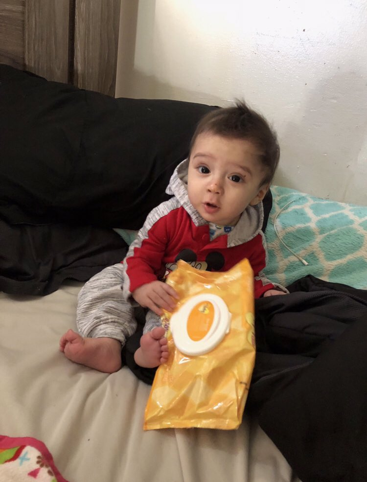 PLEASE RT: We need your help locating 8-month-old King Jay Davila who was taken while inside his fathers car on the 300 blk. of Enrique Barrera near SW 34th Street. Car was found nearby by Rodriguez Park. He was last seen wearing blue onesie. Call 911 immediately if you find him.