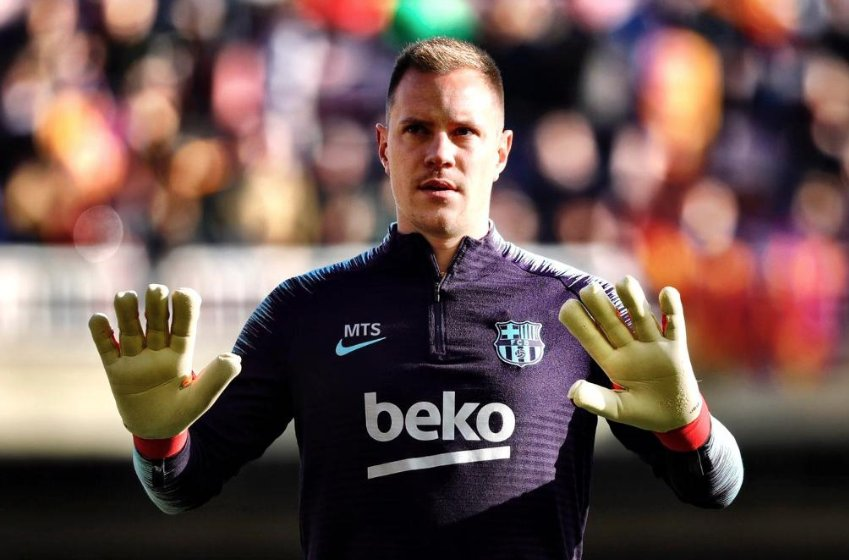 ✋ They shall not pass! @mterstegen1 ✋ https://t.co/Uy4NDWuFrp