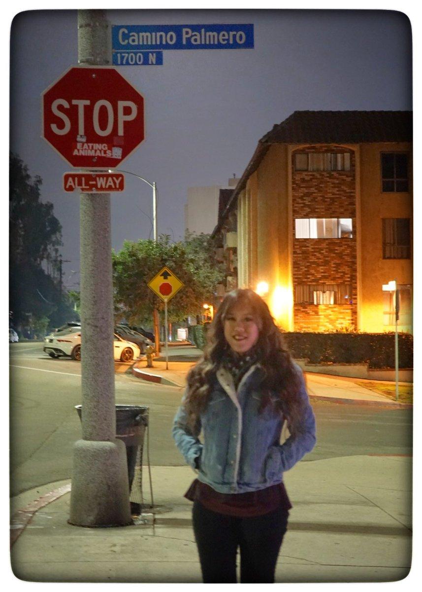 Here.. Where it all started. 💕  @TheCallingMusic @alex_band . . . #caminopalmero #myfavoritestreettovisit  #thecallingband #BandGirl #californiagirl