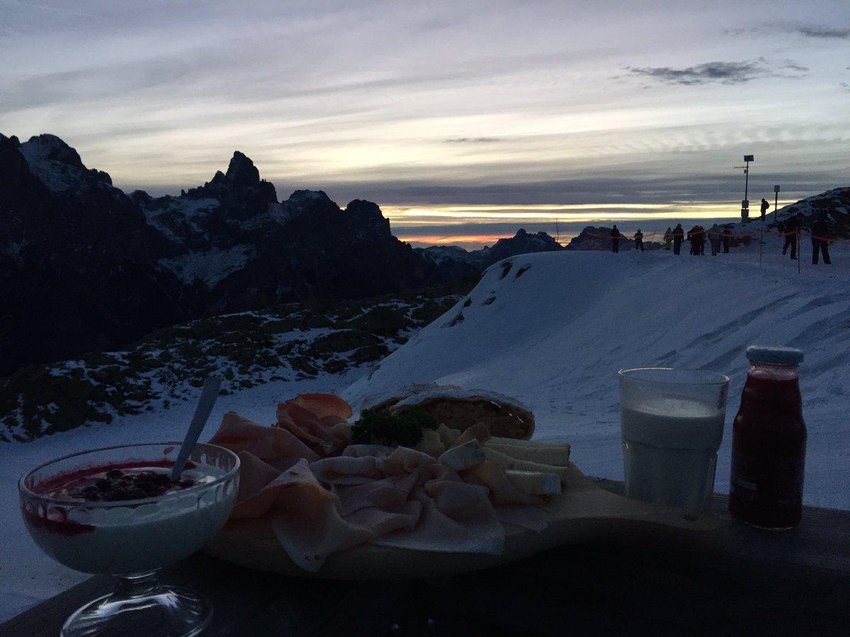 Il #Buongiorno si gusta dal mattino! #Trentinoskis...