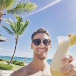 That's just a milkshake @RGrosjean, right? 🥛🍹🏖😎☀️  #VacationDays #BackToWorkSoon