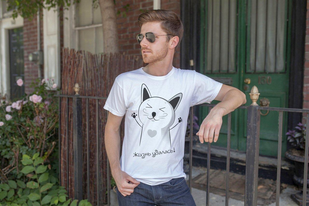 Как выбрать мужскую футболку по типу фигуры?
