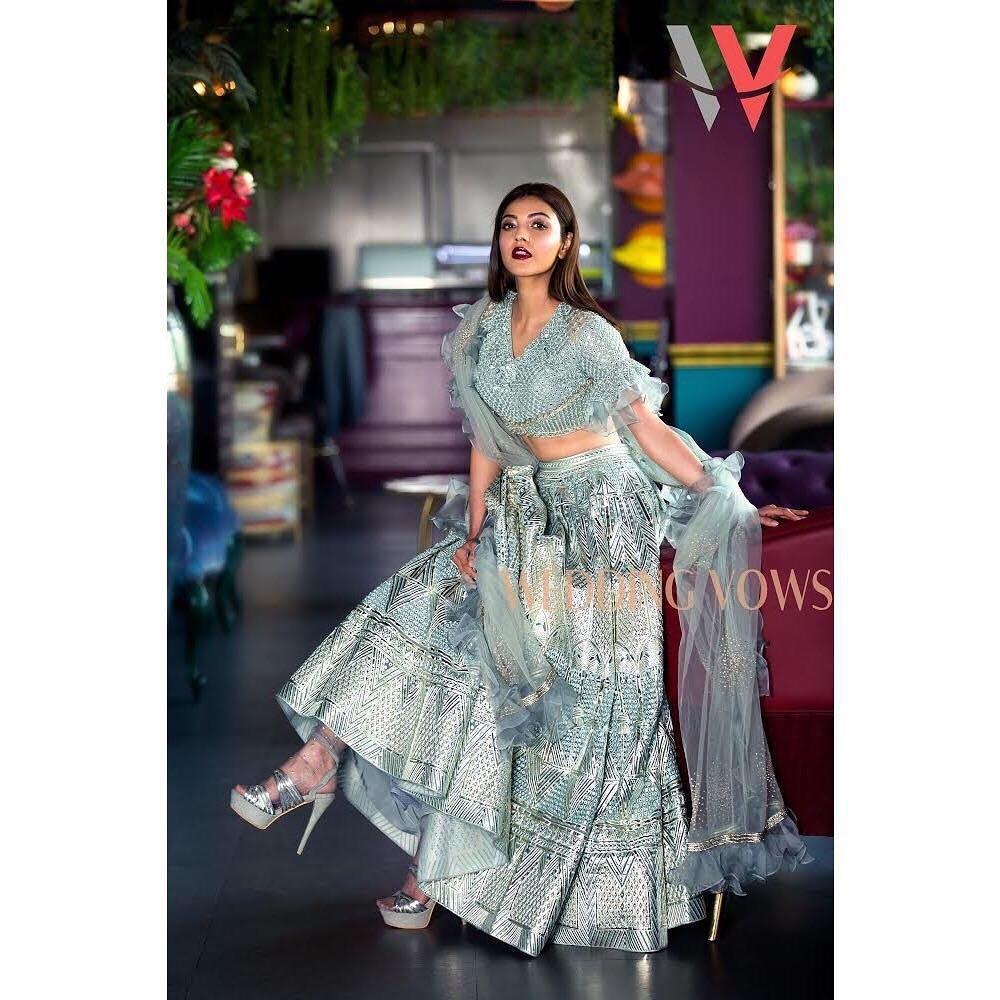 The Gorgeous @MsKajalAggarwal 💓 #KajalAggarwal #WeddingVows
