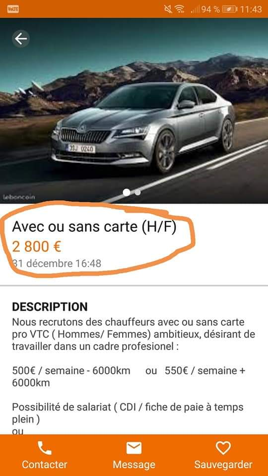 Carte Vtc Uber.Chauffeurprive Hashtag On Twitter